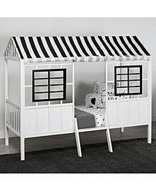 Little Seeds Forest Loft Twin Bed