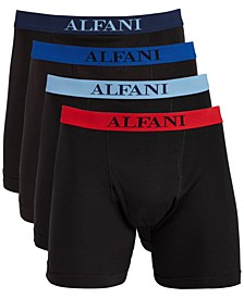 Men's 4-Pk. Boxer Briefs, Created for Macy's