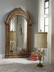 Melange Vera Floor Mirror with Jewelry Armoire Storage