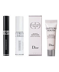 Receive a Complimentary 3pc gift with any 3 Product Dior Beauty Purchase