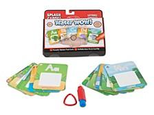 Water Wow! - Splash Cards Alphabet