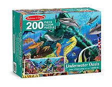 Underwater Oasis Floor Puzzle (200 Pc)