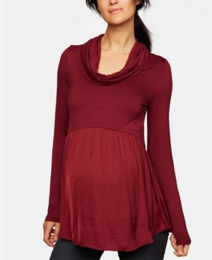 Image of A Pea In The Pod Maternity Babydoll Top