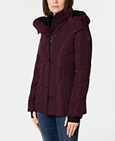 cd76eba0134 Calvin Klein Hooded Puffer Coat