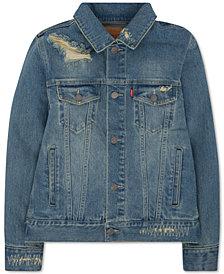 Levi's® Trucker Denim Jacket, Big Boys