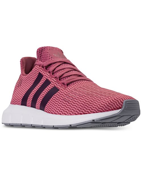 0a1250afb adidas Women s Swift Run Casual Sneakers from Finish Line   Reviews ...