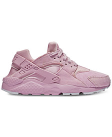 Nike Girls' Huarache Run SE Running Sneakers from Finish Line
