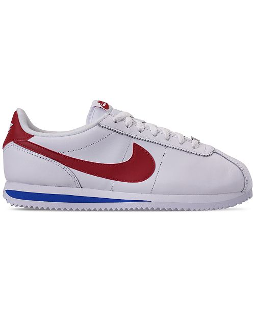 reputable site 42380 88184 ... Nike Men s Cortez Basic Leather OG Casual Sneakers from Finish ...