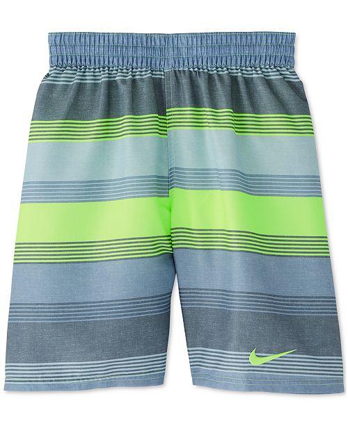 Nike Little Boys 6:1 Linen Breaker Swim Trunks