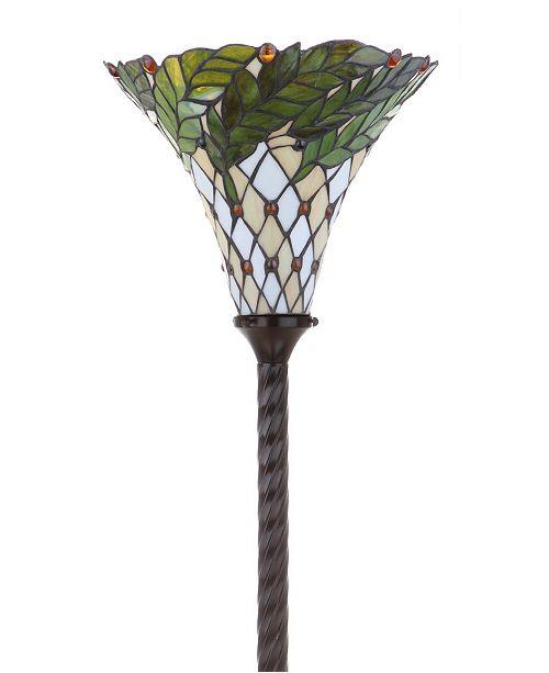 Jonathan Y Botanical Tiffany Torchiere Led Floor Lamp Reviews