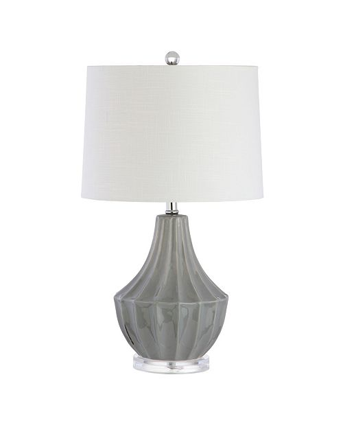 JONATHAN Y Tate Ceramic Led Table Lamp