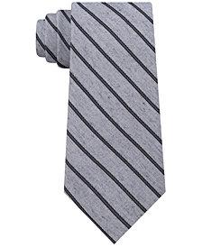 Calvin Klein Men's Slim Stripe Tie
