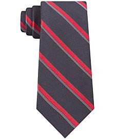 Calvin Klein Men's Molten Bar Stripe Slim Tie