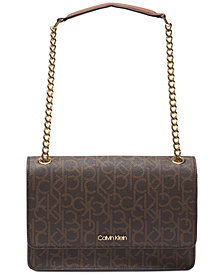 Calvin Klein Hayden Signature Shoulder Bag