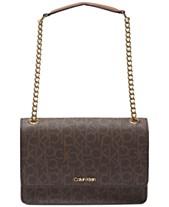 7cd39c1c1e2e Calvin Klein Hayden Signature Shoulder Bag