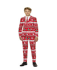 OppoSuits Winter Wonderland Teen Boys Suit