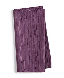 """Bardwil Continental Collection 19"""" x 19"""" Mulberry Napkin"""