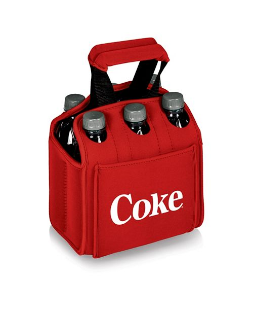 Picnic Time Oniva™ by Coca-Cola Six Pack Beverage Red Carrier