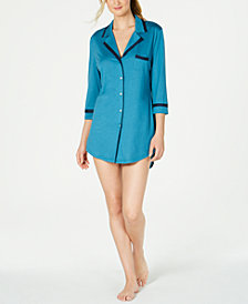 Cosabella Amore Contrasting Trim Sleep Shirt AMORE1892