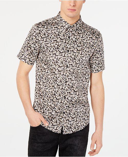 2f90dcf194b78b GUESS Men s Luxe Paint Drop Shirt   Reviews - Casual Button-Down ...