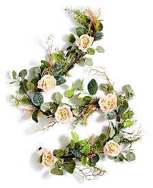 Martha Stewart Collection Spring Artificial Garland, Created for Macy's