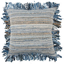 "Rizzy Home 22"" X 22"" Textured Stripe Down Filled Pillow"