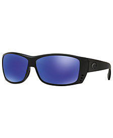 Costa Del Mar Polarized Sunglasses, CAT CAY 61P