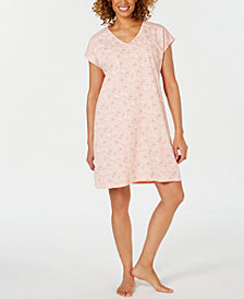 Charter Club Dolman Sleeve Cotton Sleepshirt, Created for Macy's