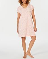 a9550246c0 Charter Club Dolman Sleeve Cotton Sleepshirt