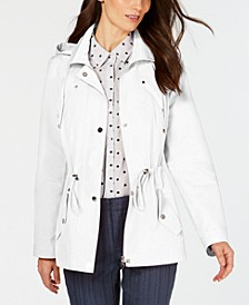 Water-Resistant Hooded Anorak Jacket, In Regular and Petite, Created for Macy's