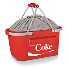 Oniva™ by Picnic Time Coca-Cola Red Metro Basket Collapsible Tote