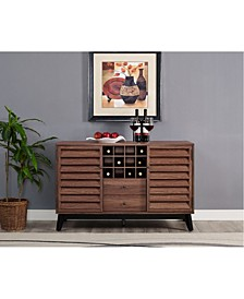 Ameriwood Home Orchard Point Wine Cabinet