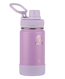 Takeya Actives 14oz Insulated Stainless Steel Water Bottle with Insulated Spout Lid
