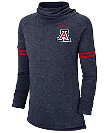 Nike Women's Arizona Wildcats Logo Funnel Neck Long Sleeve T-Shirt