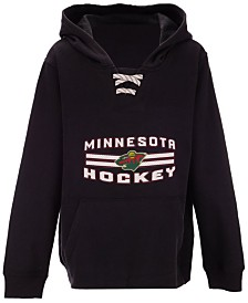Outerstuff Minnesota Wild Goal Maker Hoodie, Big Boys (8-20)