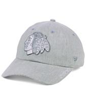 6dfe893205faa Authentic NHL Headwear Women s Chicago Blackhawks Lux Fundamental Adjustable  Cap