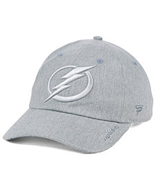 Authentic NHL Headwear Women's Tampa Bay Lightning Lux Fundamental Adjustable Cap