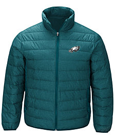 G-III Sports Men's Philadelphia Eagles Playoff Quilted Polyfill Jacket