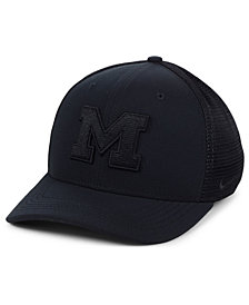 Nike Michigan Wolverines Aerobill Black Swoosh Cap