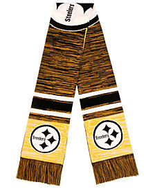 Forever Collectibles Pittsburgh Steelers Knit Color Blend Big Logo Scarf