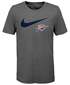 Nike Oklahoma City Thunder Swoosh Team T-Shirt 2018, Big Boys (8-20)