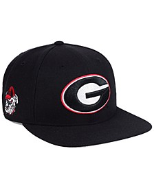 Georgia Bulldogs Sure Shot CAPTAIN Snapback Cap