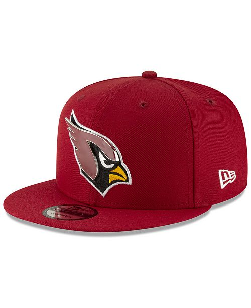 official photos 94b83 31ea0 ... New Era Arizona Cardinals Metal Thread 9FIFTY Snapback Cap ...
