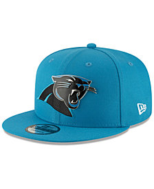 New Era Carolina Panthers Metal Thread 9FIFTY Snapback Cap