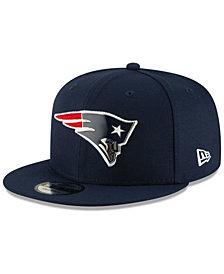 New Era New England Patriots Metal Thread 9FIFTY Snapback Cap