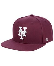'47 Brand New York Mets Autumn Snapback Cap