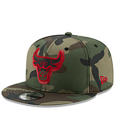 New Era Chicago Bulls Overspray 9FIFTY Snapback Cap