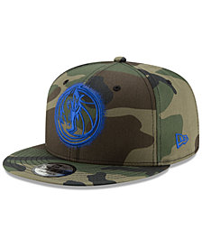 New Era Dallas Mavericks Overspray 9FIFTY Snapback Cap