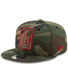 New Era Los Angeles Clippers Overspray 9FIFTY Snapback Cap