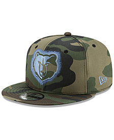 New Era Memphis Grizzlies Overspray 9FIFTY Snapback Cap